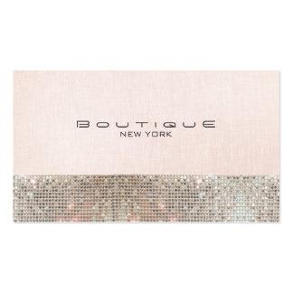 Falsas lentejuelas y boutique elegante rosado lind