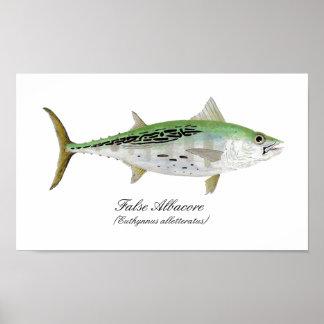 False Albacore Tuna Poster