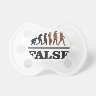 false ape art pacifier