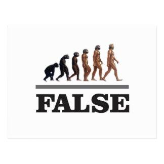false ape art postcard