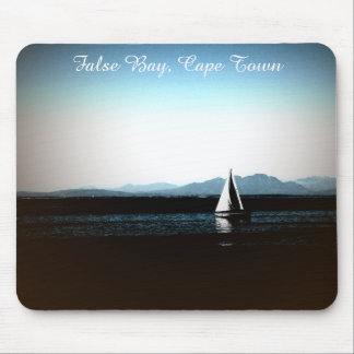False Bay, Cape Town sailing boat Mouse Pad