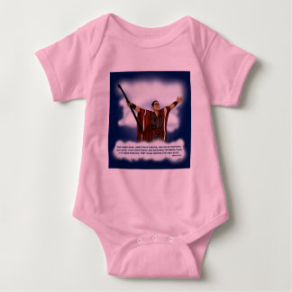 False Christ (Obama) Baby Bodysuit