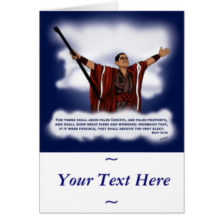 False Christ (Obama) Card