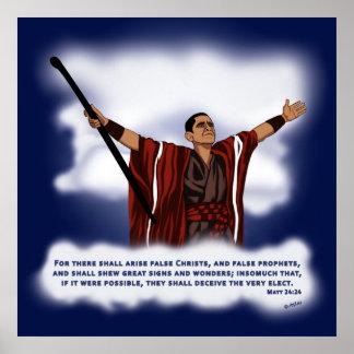 False Christ (Obama) Poster