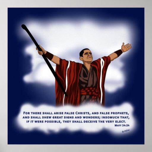 False Christ (Obama) Print