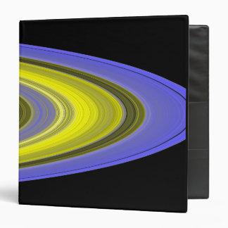 False-color image of Saturn's rings Binder