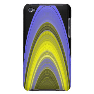 False-color image of Saturn's rings iPod Case-Mate Case