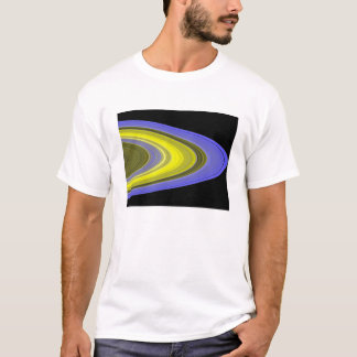 False-color image of Saturn's rings T-Shirt