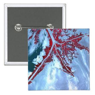 False color satellite pins