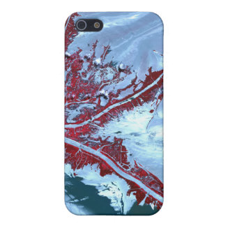 False color satellite cover for iPhone SE/5/5s
