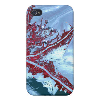 False color satellite case for iPhone 4