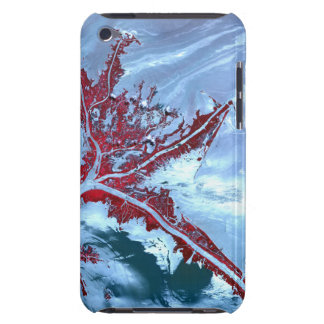 False color satellite iPod touch cover