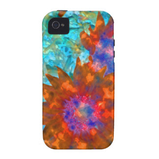 False Color Sunflowers Case-Mate iPhone 4 Cover