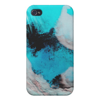 False color view of Polynya (open water) iPhone 4 Covers