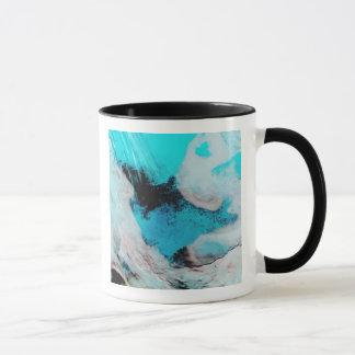 False color view of Polynya (open water) Mug