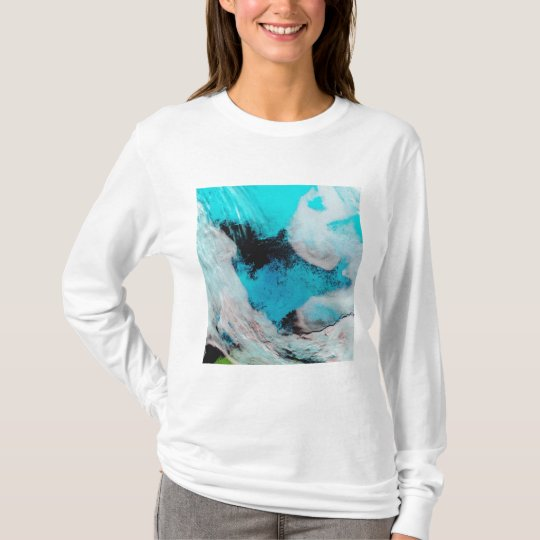 False color view of Polynya (open water) T-Shirt