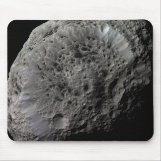 False-color view of Saturn's moon Hyperion Mouse Pad