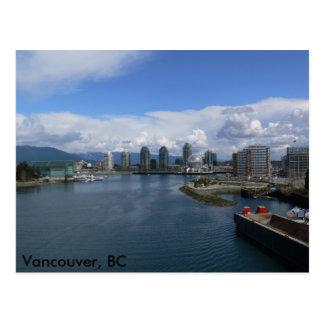 False Creek, Vancouver BC Postcard