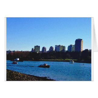 False Creek View of the Bunny Ears Greeting Cards