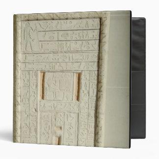False door of Sheshi, c.2300-2200 BC (painted lime 3 Ring Binders