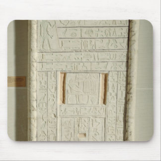 False door of Sheshi, c.2300-2200 BC (painted lime Mouse Pad