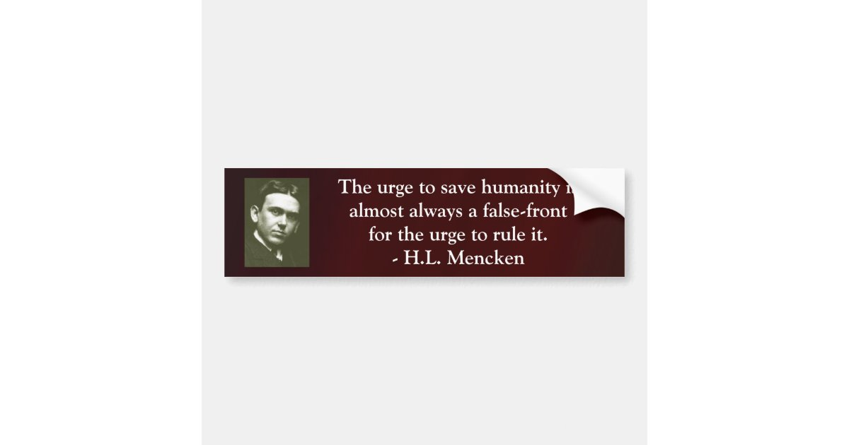 false front for a h l mencken quotes quotehd false With kitchen cabinets lowes with make my bumper sticker