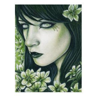 False Hellebore Pretty Poisons Postcard