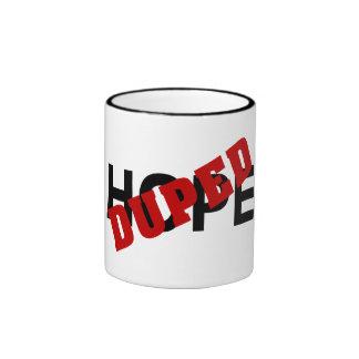 False hope duped by dope (2) ringer mug