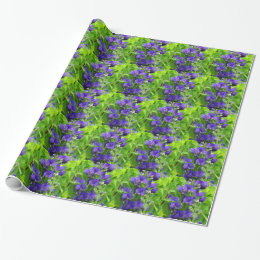 False Indigo Wrapping Paper