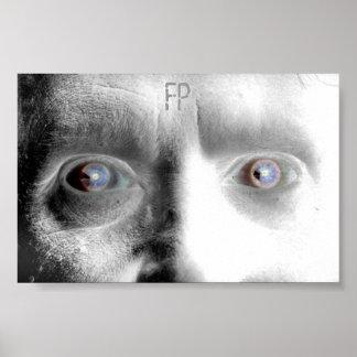 False Precedence Custom Face Poster