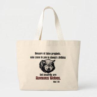 False Prophet/ Wolf Tote Bag