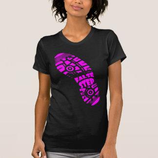 False Step Logo Tee Pink