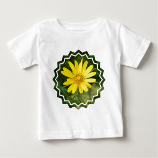 False Sunflower Baby T-Shirt