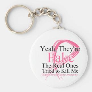 Falsificación - las reales intentó matarme - cánce llavero redondo tipo pin