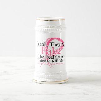 Falsificación - las reales intentó matarme - cánce taza de café