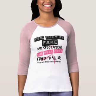 Falsificación y Spectacular - los reales intentaro Camisetas