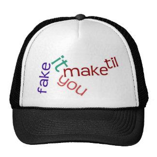 Falsifiqúelo gorra