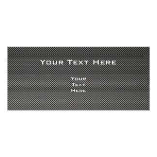 Falso bádminton de la fibra de carbono tarjeta publicitaria