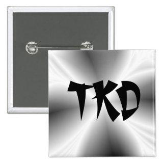 Falso botón de la plata TKD