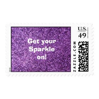 Falso brillo púrpura - consiga su chispa encendido envio