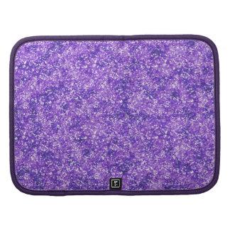 Falso brillo púrpura organizadores