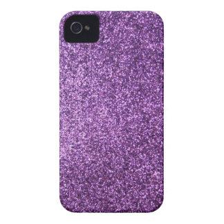 Falso brillo púrpura iPhone 4 Case-Mate cárcasas