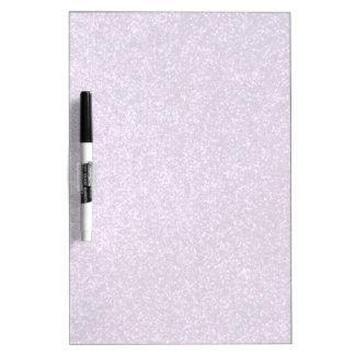 Falso brillo púrpura tablero blanco