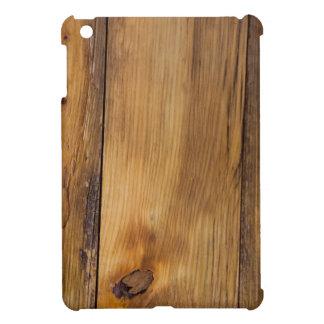 Falso caso acabado del iPad de madera del granero