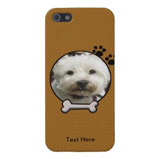 Falso caso de madera del iPhone 5 de la fotografía iPhone 5 Carcasa