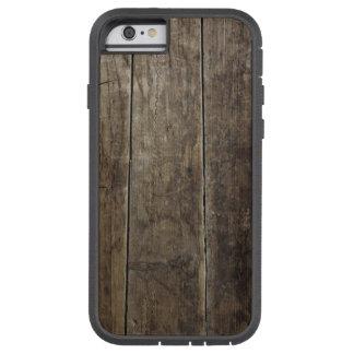 Falso caso de madera rústico funda tough xtreme iPhone 6