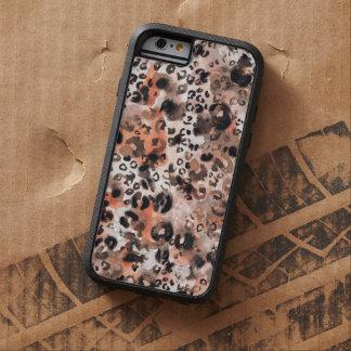 Falso caso del iPhone 6 de la piel del gato de Funda Tough Xtreme iPhone 6