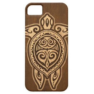 Falso caso hawaiano de madera del iPhone 5 de la iPhone 5 Carcasa