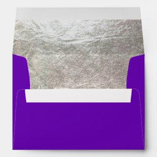 Falso color/púrpura de la plata liner/DIY de