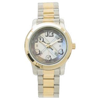 Falso compás relojes de pulsera